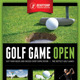 Golf Flyer Template 04 - GraphicRiver Item for Sale
