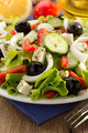 greek salad in plate - PhotoDune Item for Sale