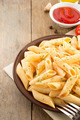 pasta Penne in plate - PhotoDune Item for Sale