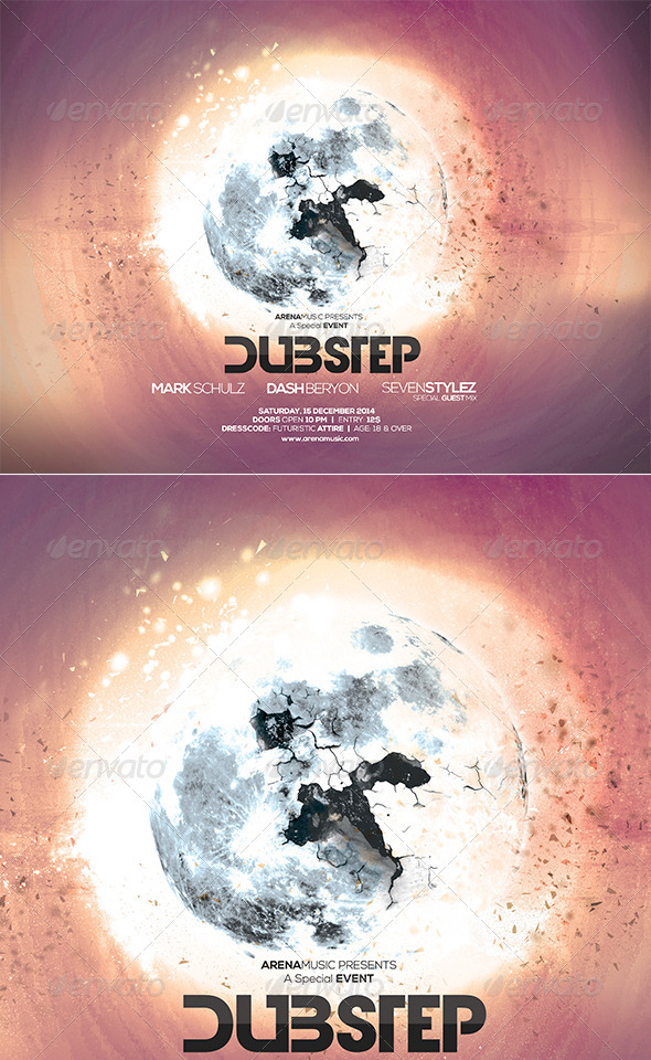 GraphicRiver Futuristic Flyer Poster Vol 05 8166781