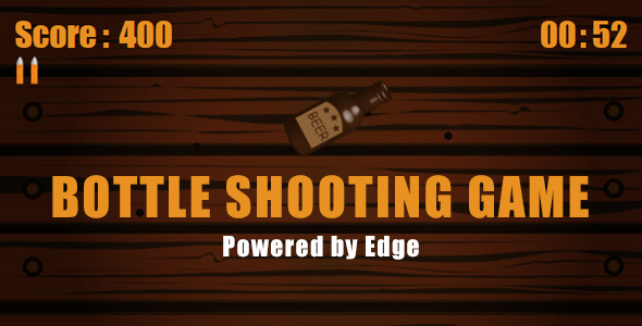 CodeCanyon Bottle Shooting Game 8166860