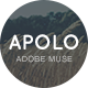 Apolo - One Page Parallax Muse Template - ThemeForest Item for Sale