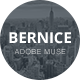 Bernice - One Page Parallax Muse Template - ThemeForest Item for Sale