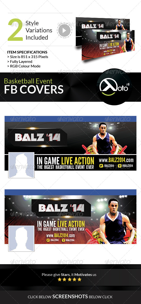 GraphicRiver Basketball Tournament Event FB Banners 8167225