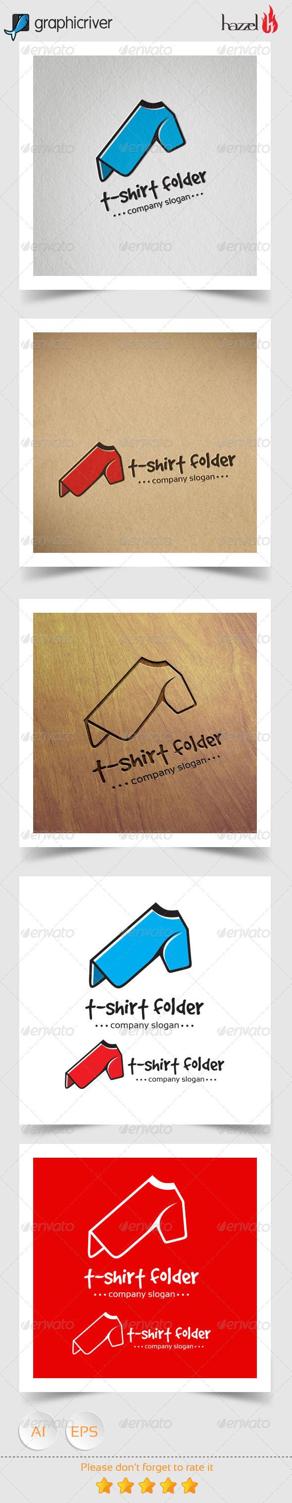 GraphicRiver T-shirt Folder Logo 8167318