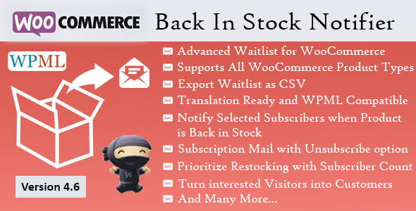 Back In Stock Notifier WooCommerce Waitlist Pro