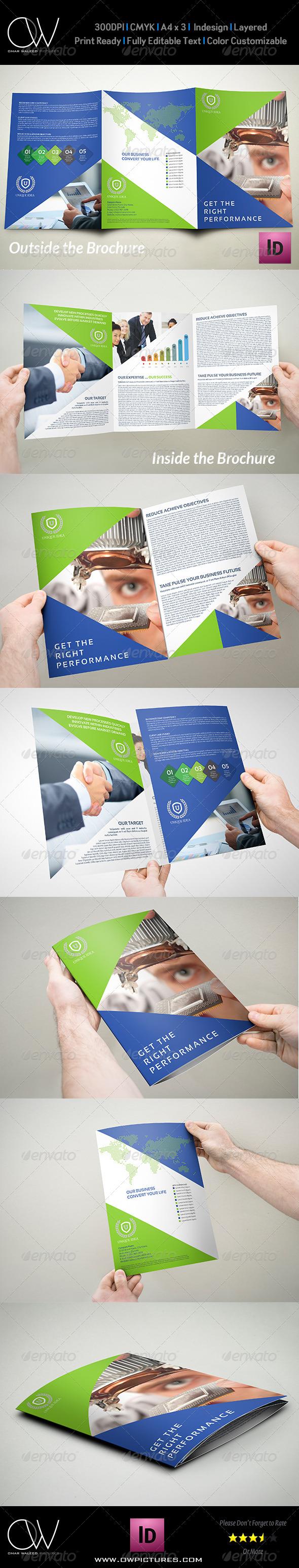 GraphicRiver Company Brochure Tri-Fold A4 x3 Vol.10 8167327