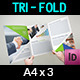 Company Brochure Tri-Fold A4 x3 Vol.10 - GraphicRiver Item for Sale