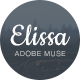 Elissa - Multipurpose One Page Muse Template - ThemeForest Item for Sale