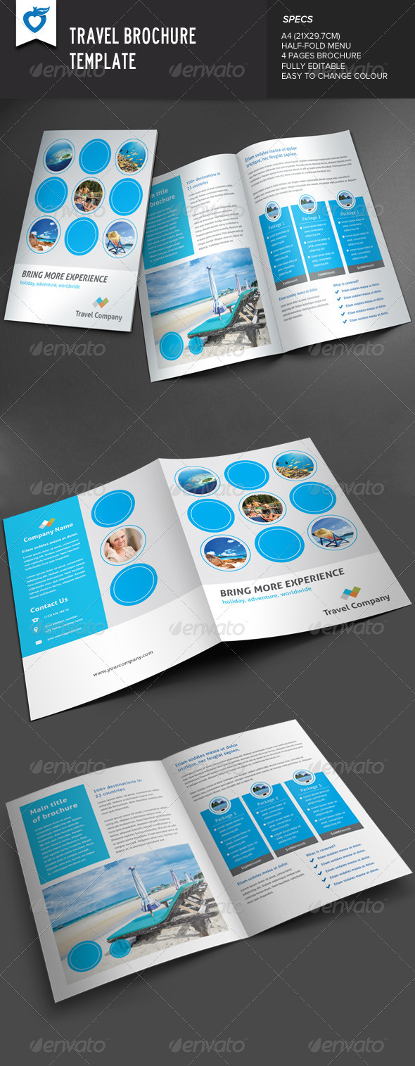 GraphicRiver Travel Brochure 8167526