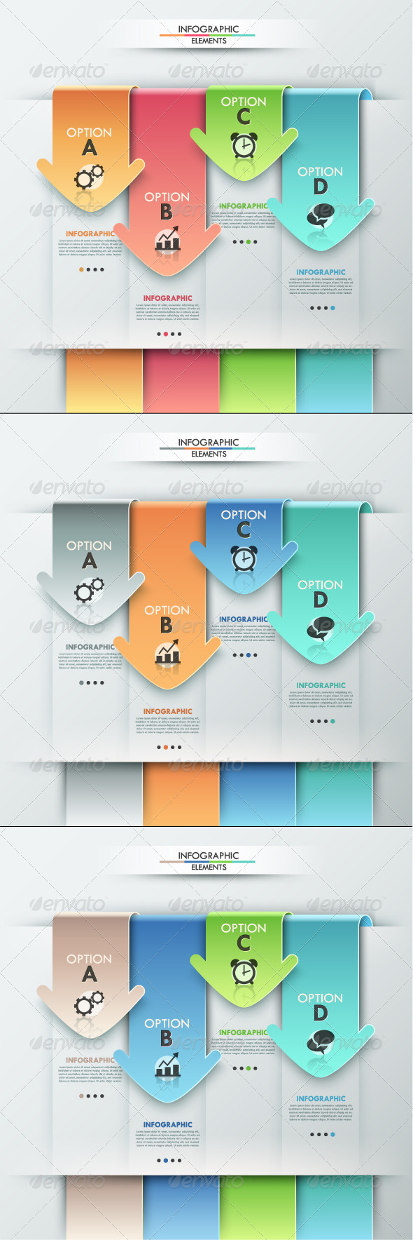 GraphicRiver Modern Infographics Options Banner 3 Versions 8167553