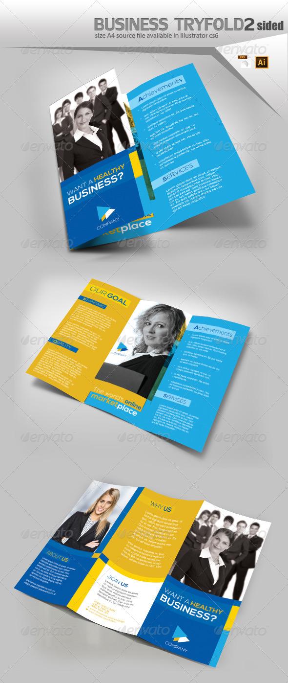 GraphicRiver Company Trifold Brochure 8167658