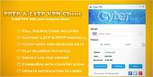 CodeCanyon PPTP & L2TP VPN Client 8167857