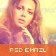 Photography PSD Email Template - GraphicRiver Item for Sale
