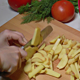 Peeled Potatoes Cut into Slices for Cooking 802 - VideoHive Item for Sale