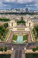 View of Paris - River Seine, the Palais de Chaillot, La Defense - PhotoDune Item for Sale