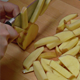 Peeled Potatoes Cut into Slices for Cooking 803 - VideoHive Item for Sale