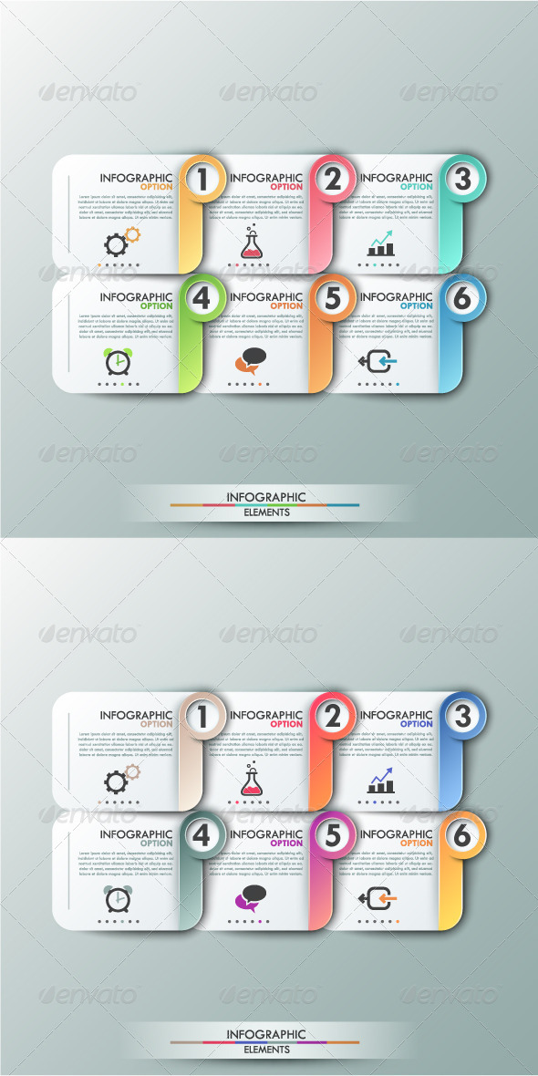 GraphicRiver Modern Infographics Options Banner 2 Versions 8168497