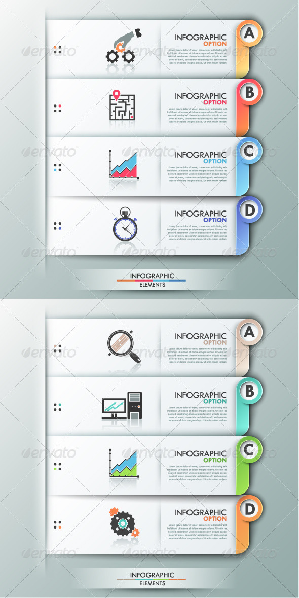GraphicRiver Modern Infographics Options Banner 2 Versions 8168537