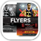 Basketball Tournament Event Flyers - GraphicRiver Item for Sale