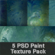 Paint Texture Swirled Green Pack 01