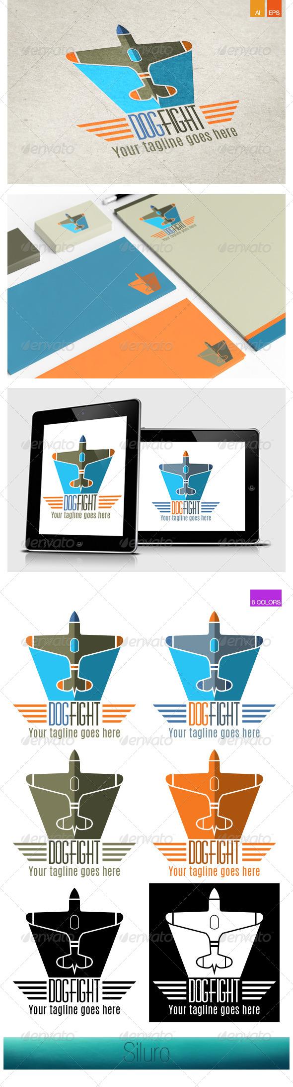 GraphicRiver DogFight Logo 8168932