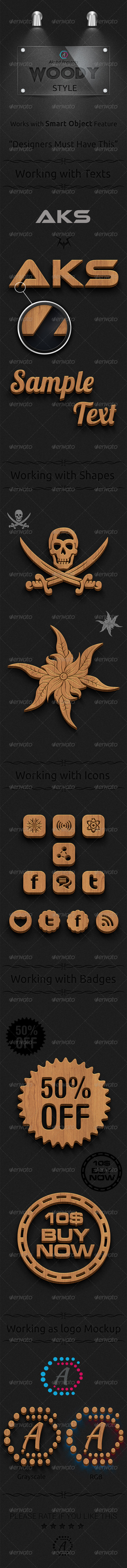 GraphicRiver Woody Style 3D&HD 8168999