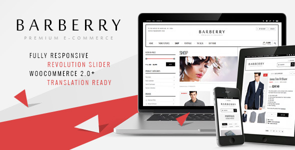 Barberry - Responsive WooCommerce Theme
