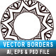 Vector Rounded Borders Set 02 - GraphicRiver Item for Sale