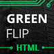 Green Flip - One Page Theme Bootstrap 3 - ThemeForest Item for Sale