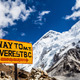 Mount Everest signpost Himalayas - PhotoDune Item for Sale