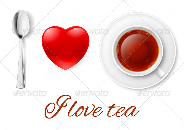 GraphicRiver I Love Tea 8169661