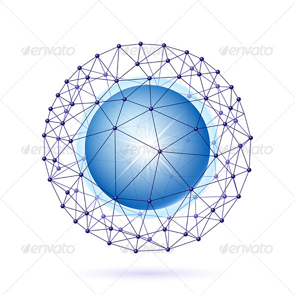 GraphicRiver Sphere Connected 8169669
