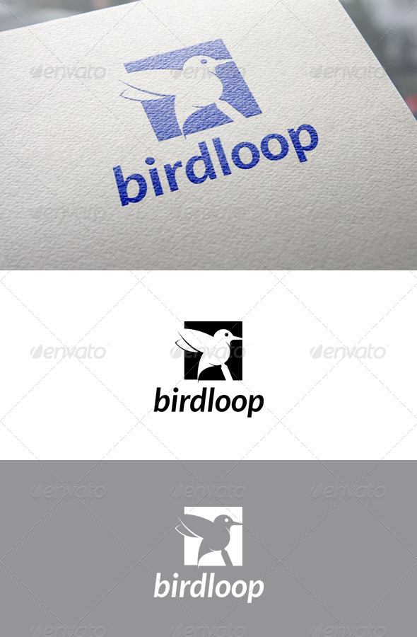 Birdloop - Animals Logo Templates