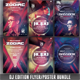 Guest DJ Party Flyer/Poster Bundle Vol.1 - GraphicRiver Item for Sale