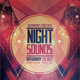 Night Sounds Flyer Template - GraphicRiver Item for Sale