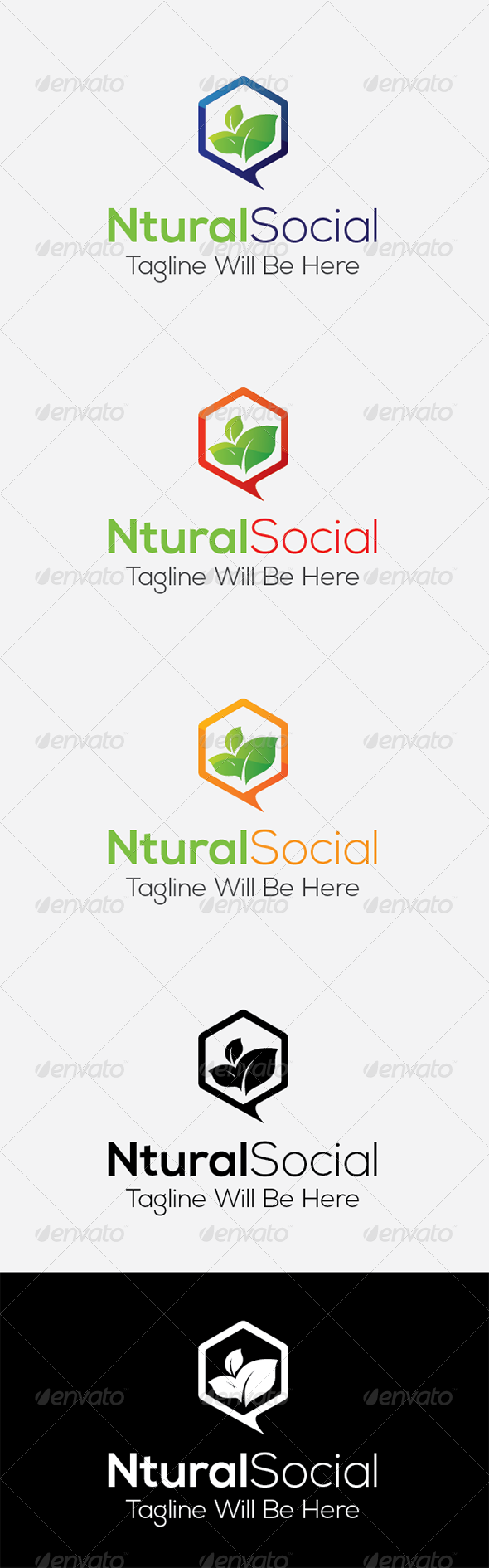 GraphicRiver Natural Social 8170118