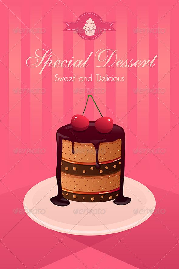 GraphicRiver Dessert Poster 8170585