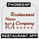 Restaurant App With CMS - iOS