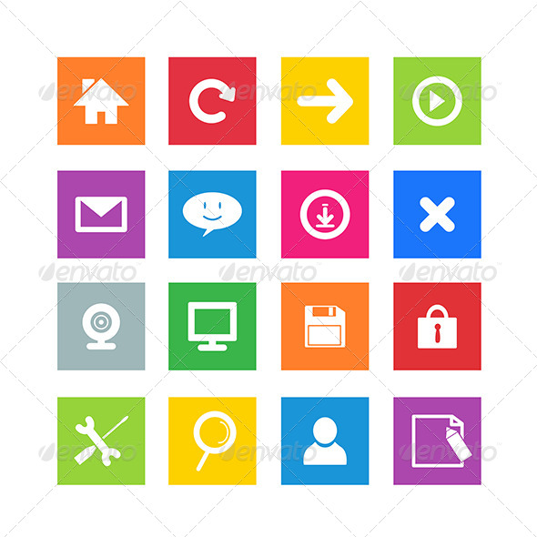 GraphicRiver Game Icons 8170685