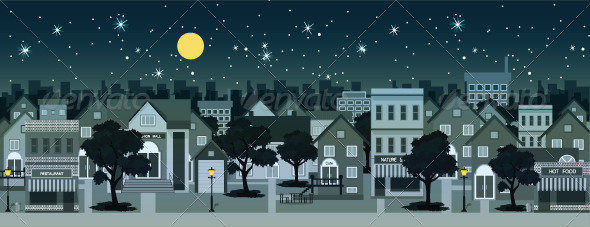 GraphicRiver Night City 8170688