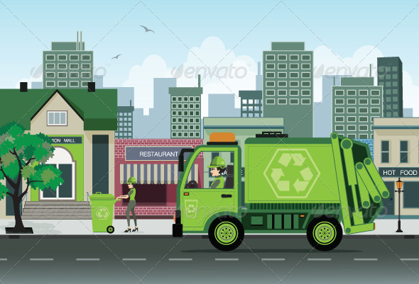 GraphicRiver Garbage 8170884