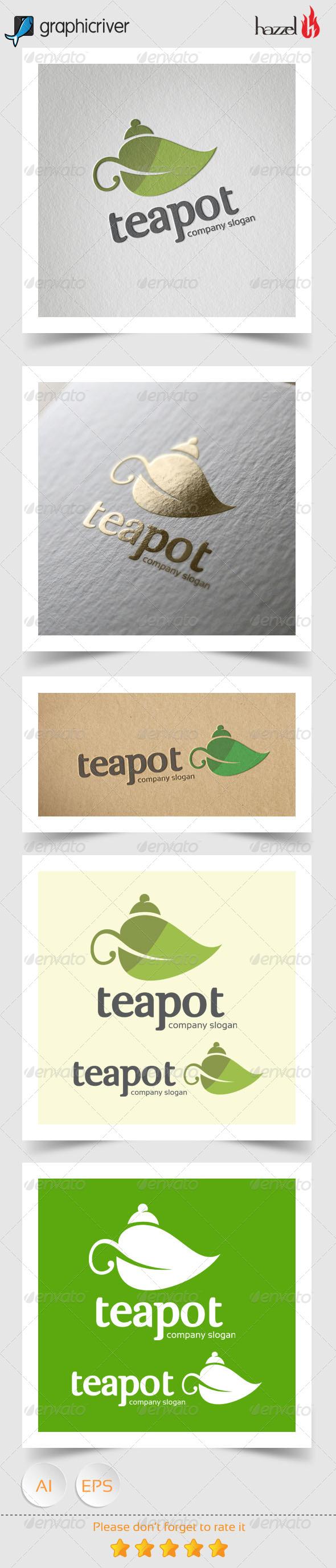 GraphicRiver Teapot Logo 8170912