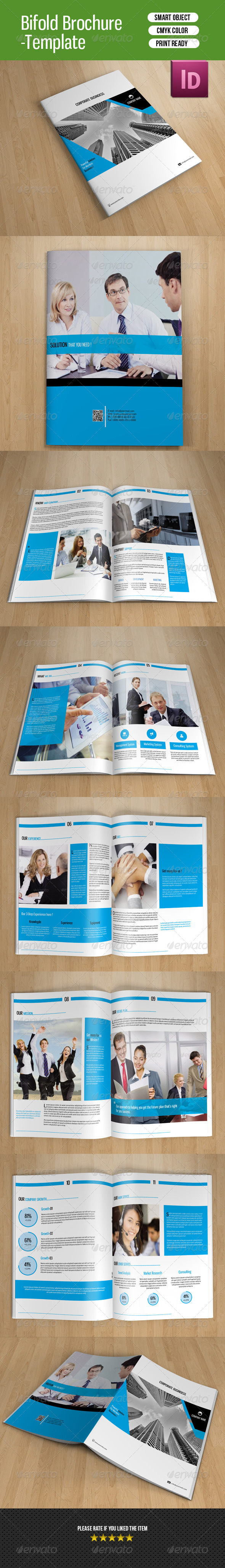 GraphicRiver Clean Business Brochure-V83 8171057