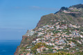 Madeira Island with houses built at a cliff - PhotoDune Item for Sale
