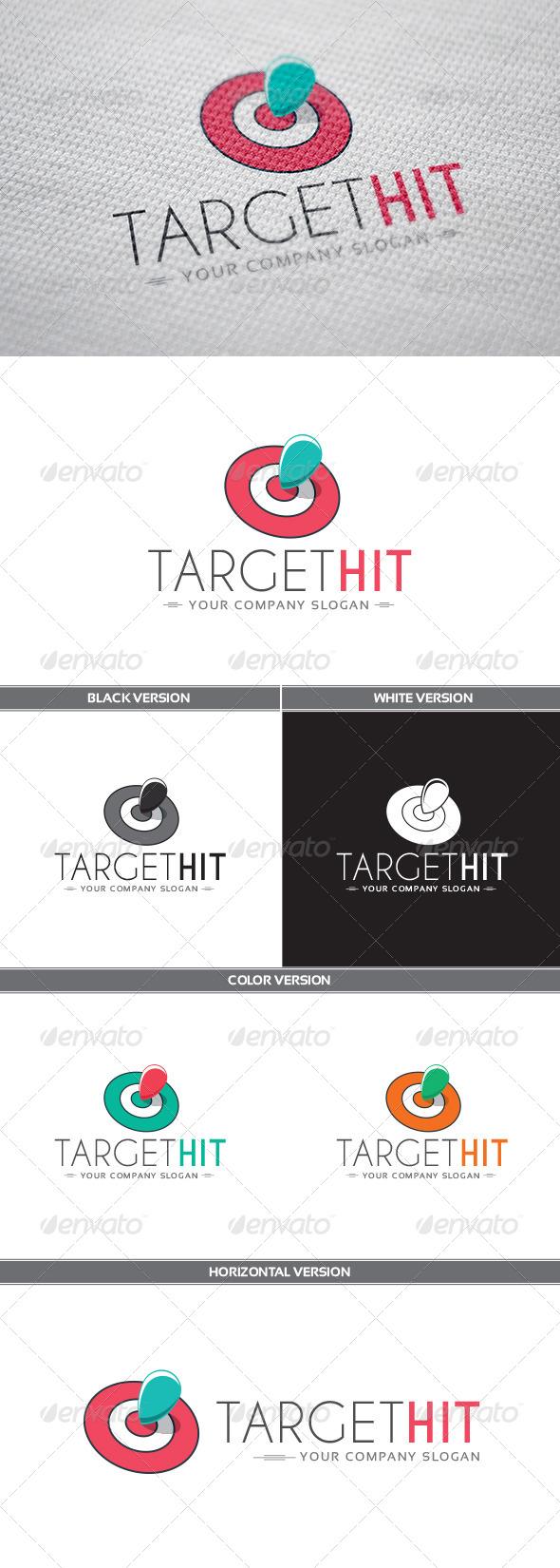 GraphicRiver TargetHit Logo 8171720