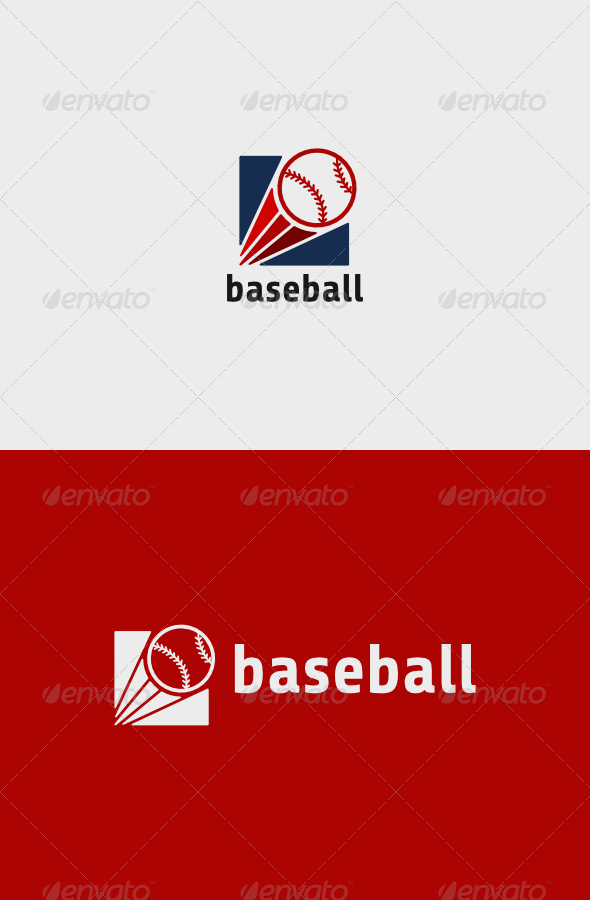 GraphicRiver Baseball Logo 8171722