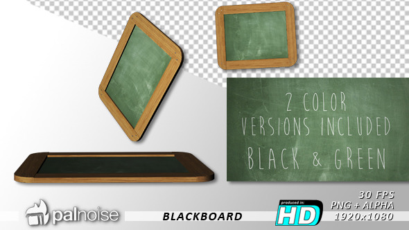 Blackboard 2-Pack Green & Black