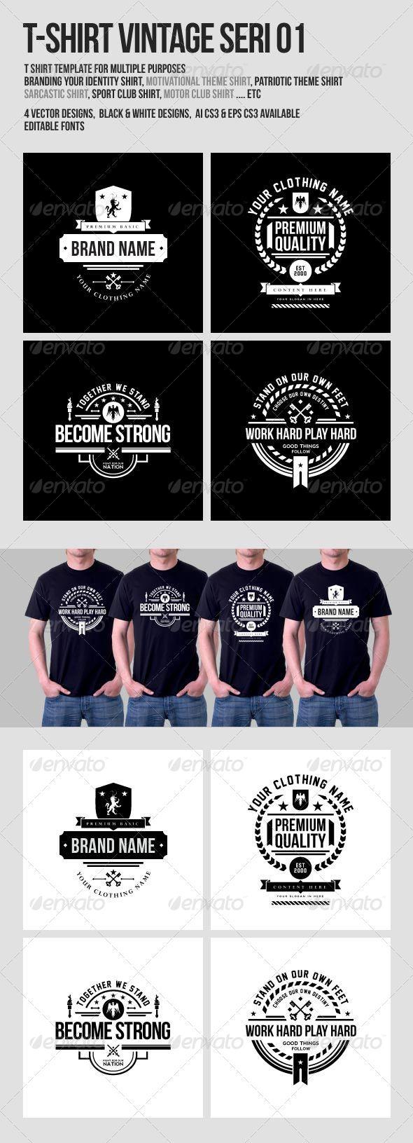 GraphicRiver T-Shirt Vintage Design 8171761