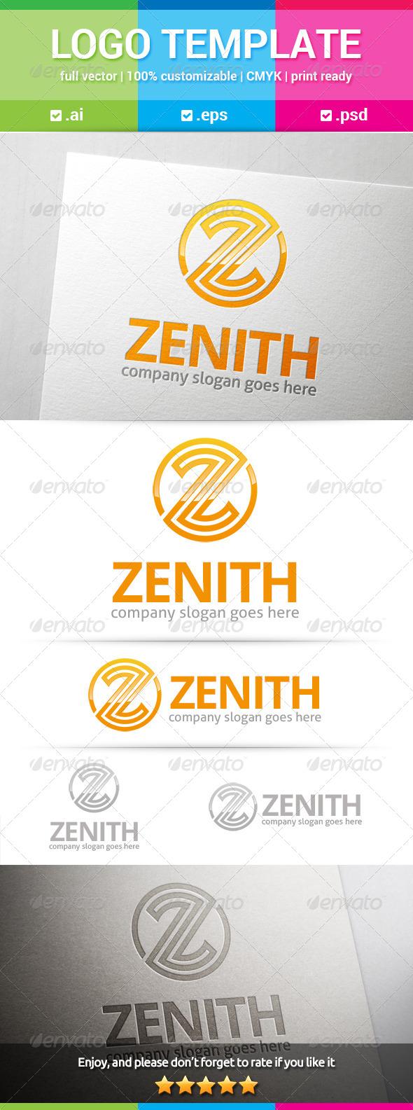 GraphicRiver Zenith Letter Z Logo 8171770
